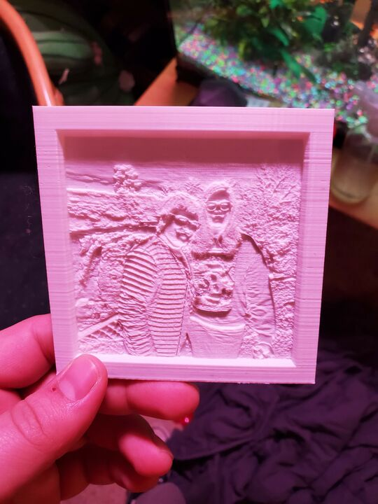 Lithophane Photographs