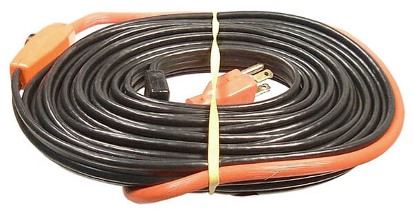 420W 120V AUTO ELECTRIC PIPE HEATING TRACE CABLE 60' FOOT