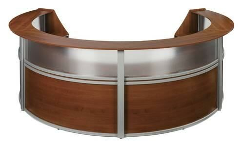 Marque Series Laminate/Poly Four-Piece Reception Station