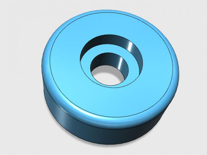 Replacement wheel for luggage