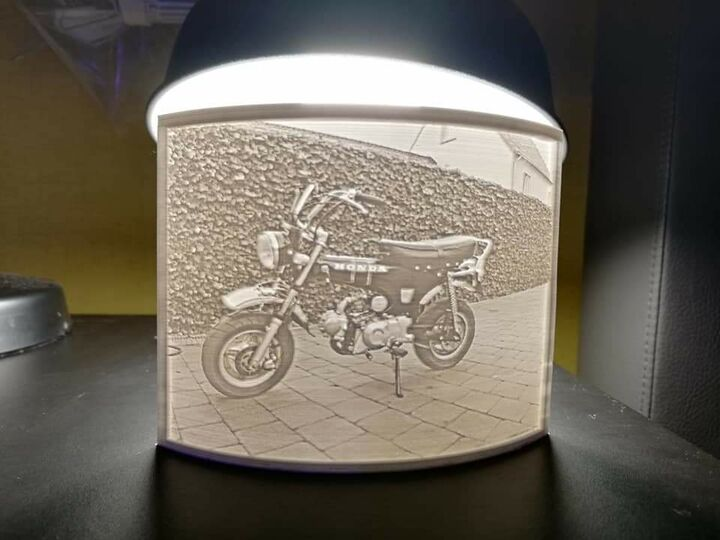 Custom Lithophane 120mm