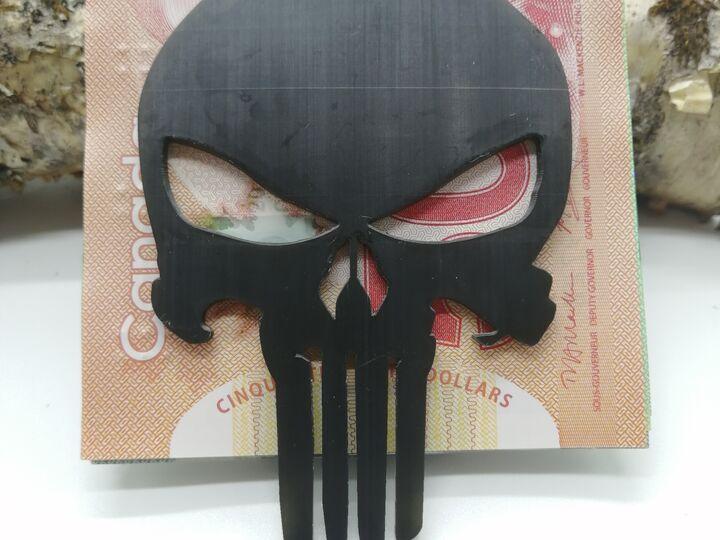Money clip Punisher