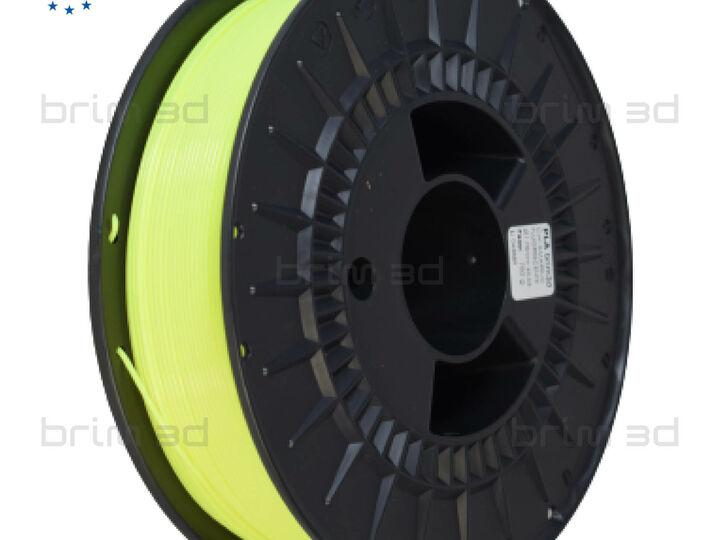 PLA BRIM3D AMARELO FLUORESCENTE - 1,75MM 750G