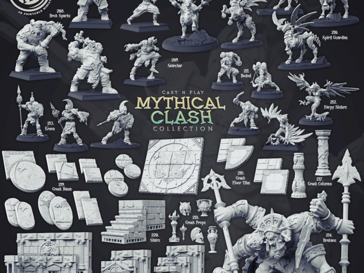 Cast n' Play - Mythical Clash Collection [2020-07]