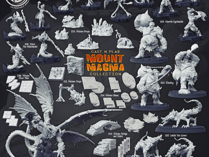 Cast n' Play - Mount Magma Collection [2020-08]