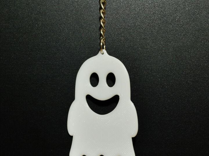 Friendly Ghost Key Chain