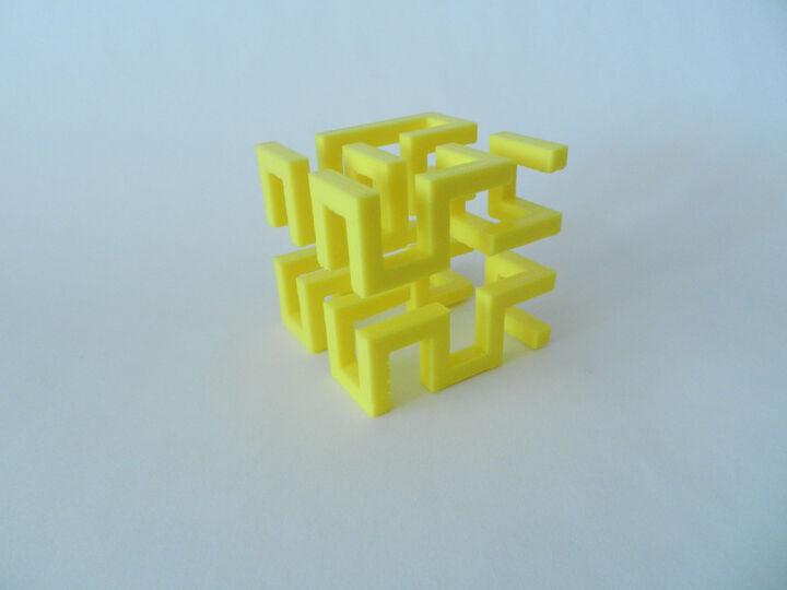 Test print cube HILBERT