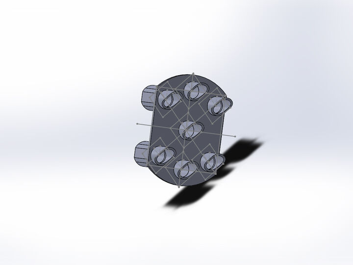 HO Scale - Track Signal, clipped