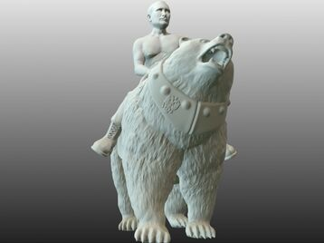 Vladimir Putin on bear