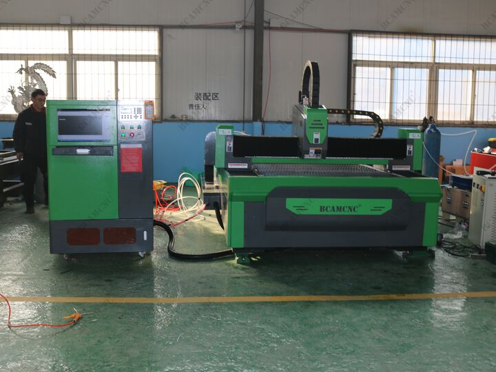 8mm Carbon Steel YAG fiberLaser Cutting Machine