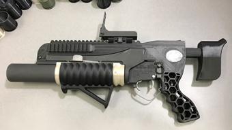 RAMBO – 3D Printed Grenade Launcher