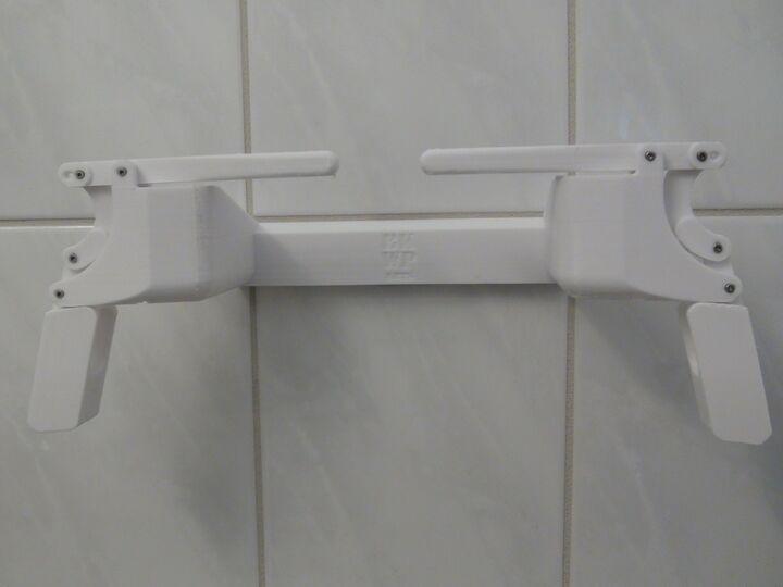 AIO Universal Quickchange Toilet Paper Holder