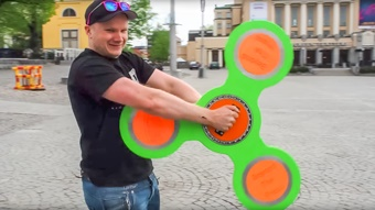 Turning Profits and Breaking Records with Fidget Spinners
