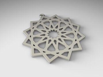pendant Islamic ornament