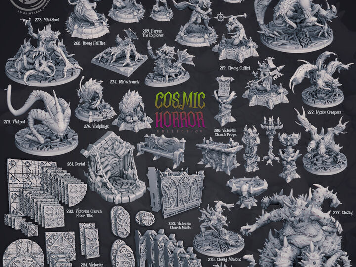 Cosmic Horror Miniatures (Monsters)