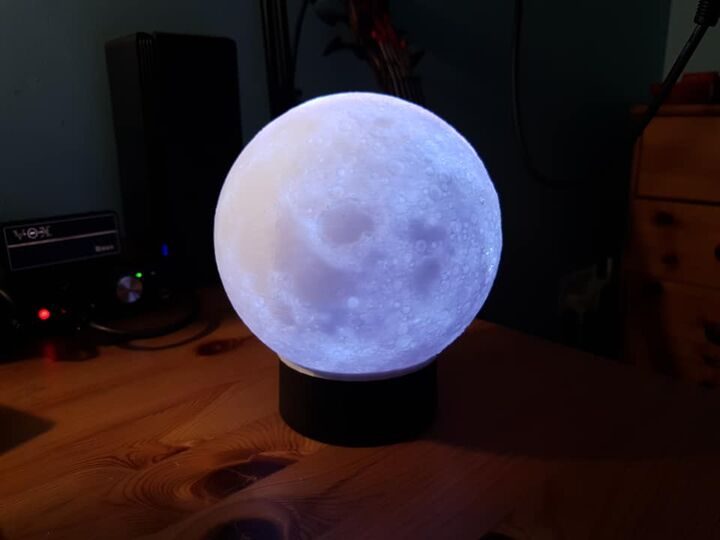 RGB Moon Lamp - Free Shipping!