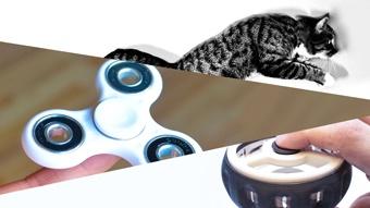 3D printed Zoetrope Fidget Spinner