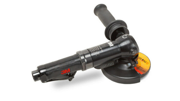 3M 28824 PNEUMATIC RIGHT ANGLE GRINDER - 4 1/2 IN DIAMETER 11 IN LENGTH
