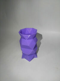 Faceted Pen Stand