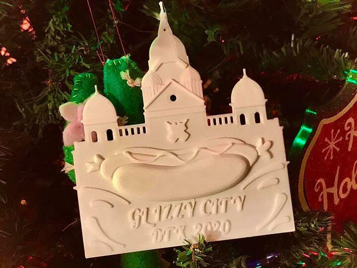 Glizzy City, TX 2020 Commemorative ornament