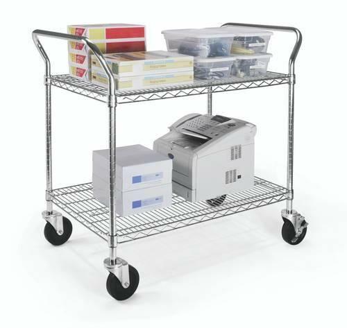 """Heavy-Duty Mobile Cart, 24"""" x 36"""""""