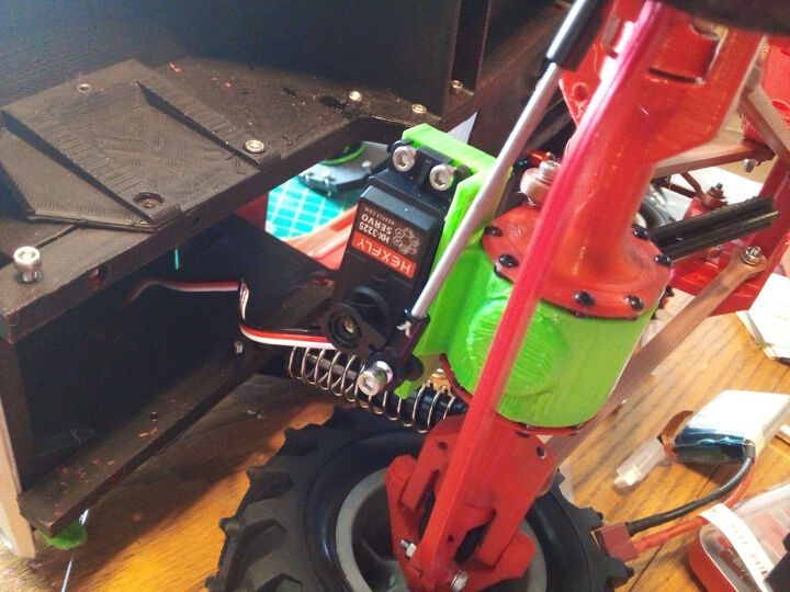 3dSets Rancher axle mounted servo