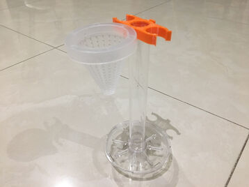 Cone holder for BiOrb round fish aquarium