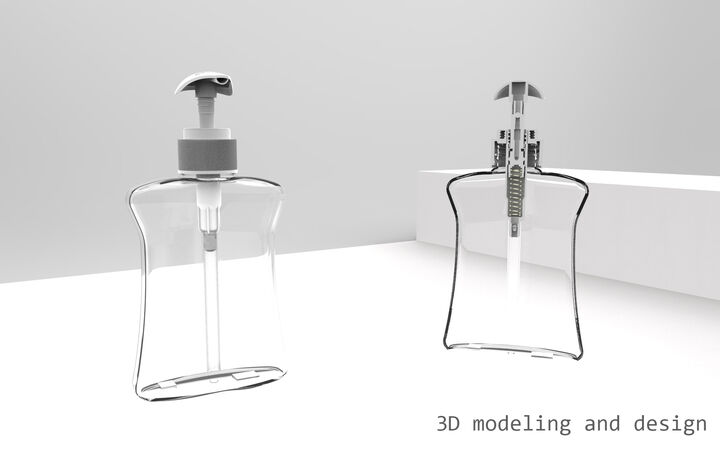 3D modeling, designing and rendering