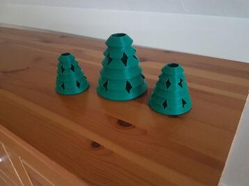 Xmas Tree 'Vase'
