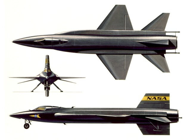 1_48_scale_X-15_Aircraft_Model