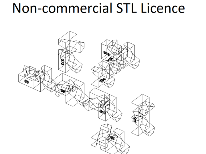 Non-commercial STL Licence