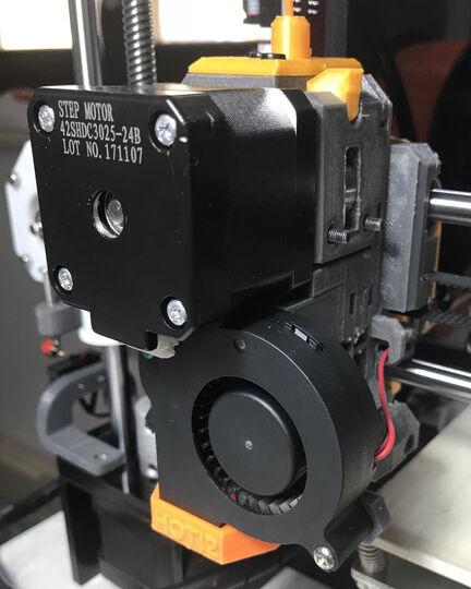 Anet A8 Prusa MK3 Extruder Mod - 3D Printable Model on