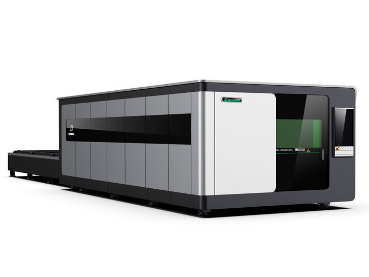 carbon fiber laser cutting machine metal pipe laser cutter bcamcnc fiber laser cutting machine 6000w