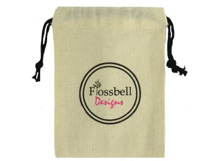100% Cotton Muslin Drawstring Bag, Cotton Pouch, Cotton Gift Bag, Promotional Muslin Bags