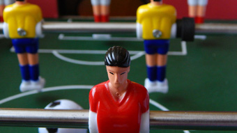 3D printing foosball players