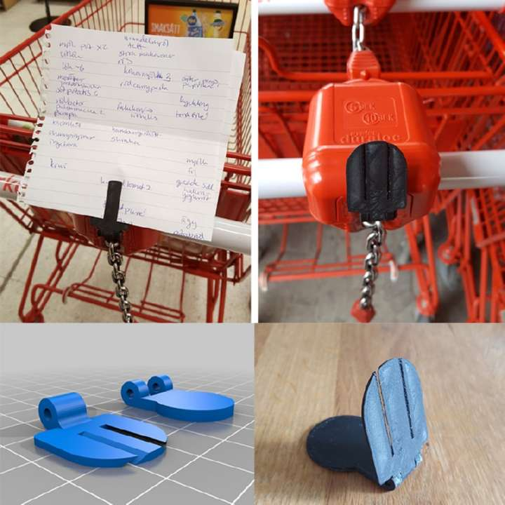 3D print Shopping Cart Token