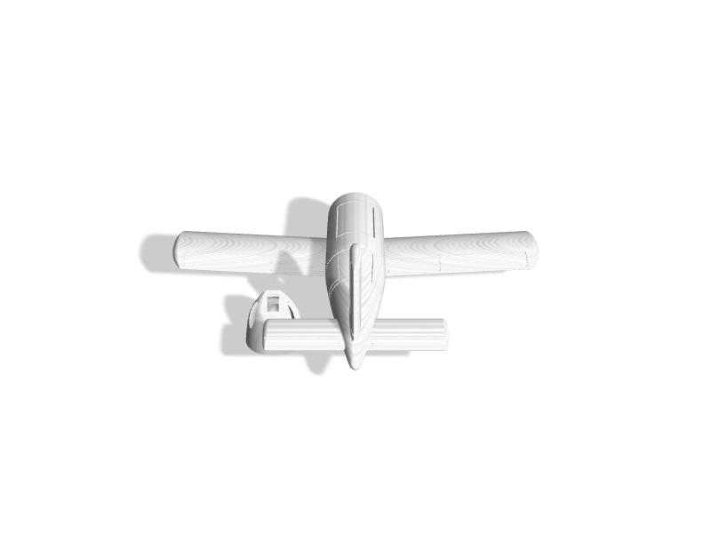 (1:72) Messerchmitt P 1103/I (Separate Nose)