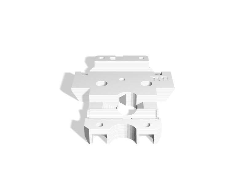 Anet A8 Prusa MK3 Extruder Mod - 3D Printable Model on Treatstock