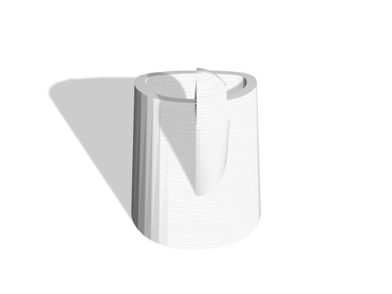 VR Gun Stock Mount for HTC Vive or Oculus Rif - 3D Printable