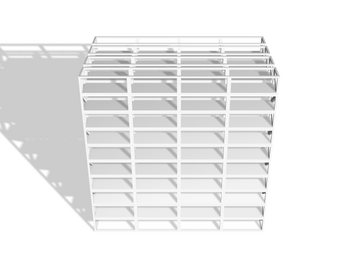 Industrial Shelving 4x scale 1-100