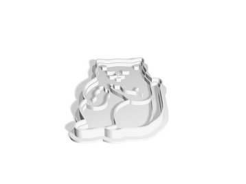 Cat with middle fingers Cookie Cutter