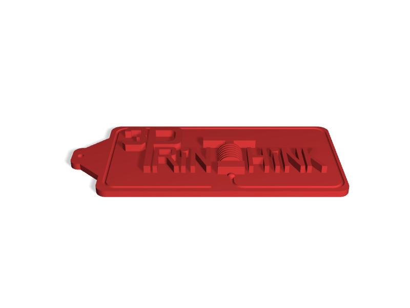3DPrinthink Keychain