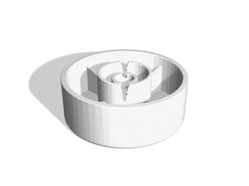 Sewing machine handle