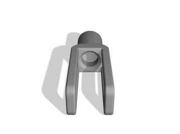 Strange Square Muzzle Device (-14mm Threads)