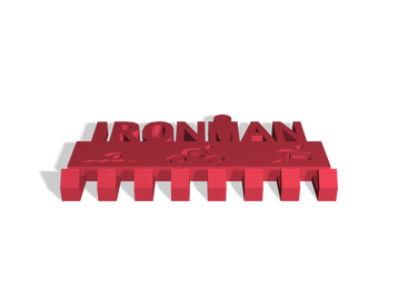 Ironman Key Holder