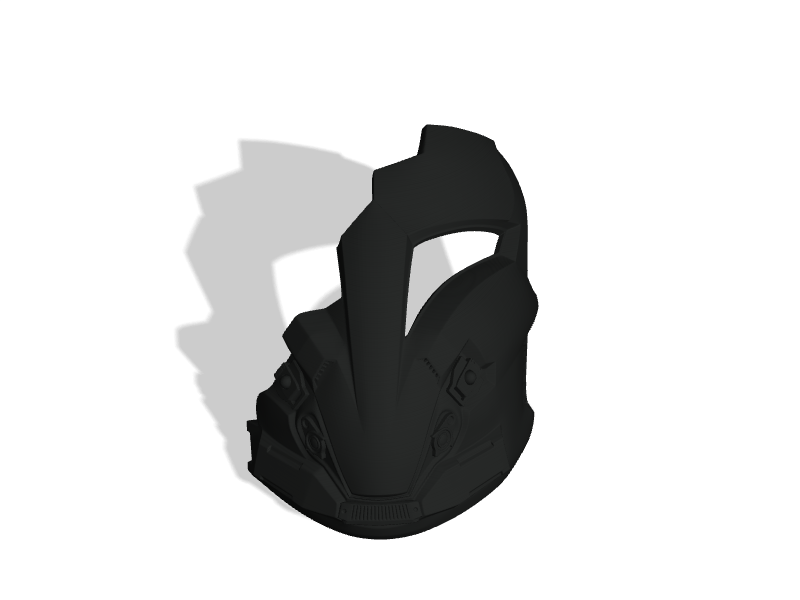 Arcann Mask
