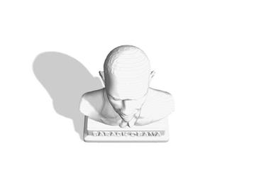 Barack  Obama Bust