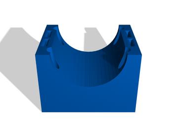 3 inch diameter mount plate