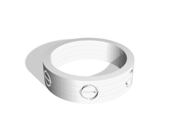 Cartier Ring Size 9 (width 6mm)