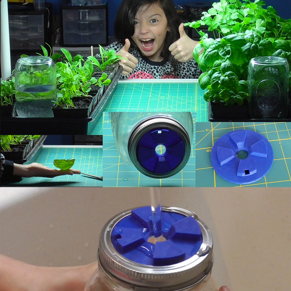 Automatic Watering Lid